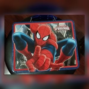Other - 3/$30 NWOT Metal Spiderman Lunch Box